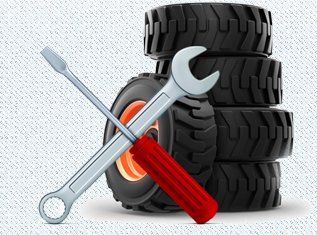 Trailer Repair Service Detroit MI - Excavators Repair, Semi Truck Service - M and R Mechanical Services - pic_wrench_tires